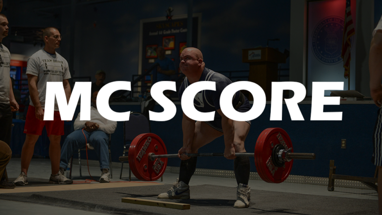 How does the MC SCORE work?