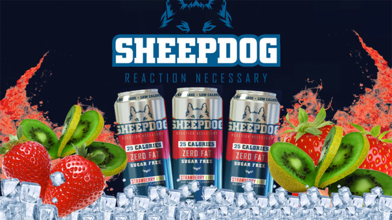 New Sponsor! Sheepdog Enhanced Beverage